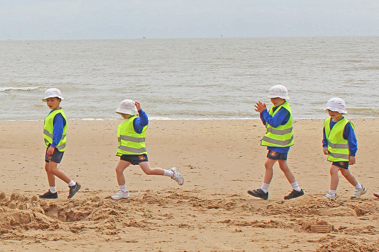 Frinton on sea outing for pre prep