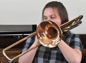 Rosie on Trombone Instrumental Competition 17
