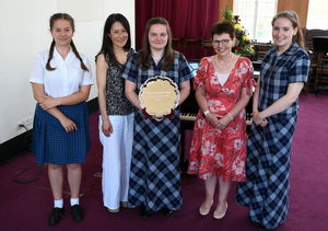 Winners with Judges at Instrumental Competition 2017