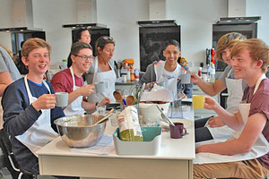 Lower 6th Students at Cambridge Cookery School