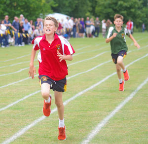 Monk jones boy in lead at prep school sports day
