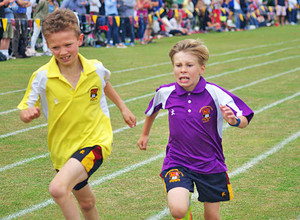 Westfield newbury house at prep school sports day
