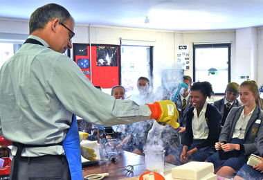 Liquid Nitrogen Experiments U3 Induction June 17