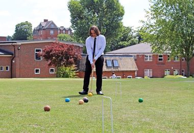 Croquet Maths Induction to 6th Form