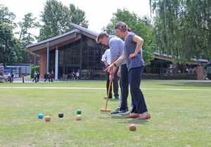 Maths Induction to 6th Form with Croquet