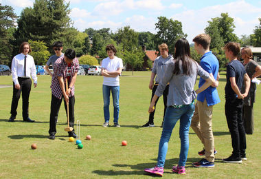 6th Form Induction Maths Croquet