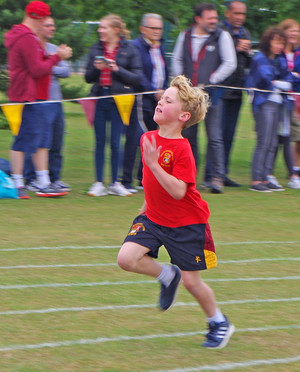 Relay race shell sports day 2017