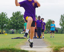 Shell high jumper shell sports day