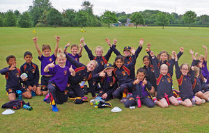 Prep School Pupils at Prep School Sports Day
