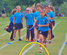 York house relay race at shell sports day