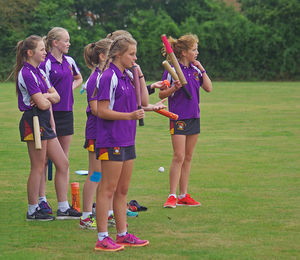Newbury house girls house rounders