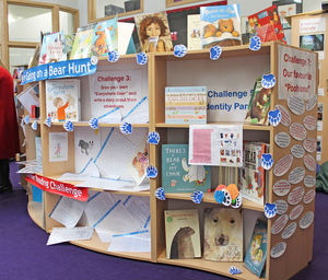 Prep School Bear Hunt Display