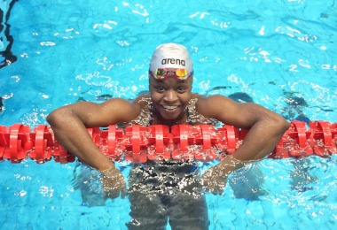 Elinah's Swimming Success