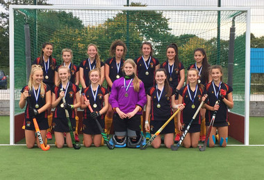 U16 Girls Hockey Team County Champions