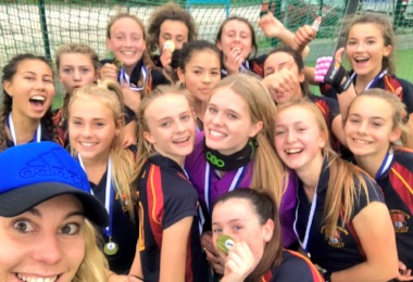 U16 Girls Hockey Team are County Champions