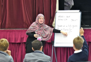 Lower Thirds Learn about Islam