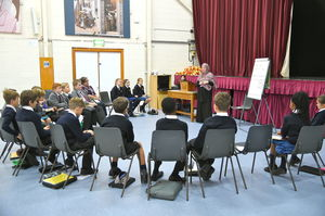 Prep School Pupils in Islam Workshop Session