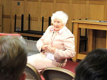 Shirley Williams Talks to A Level Politics Students