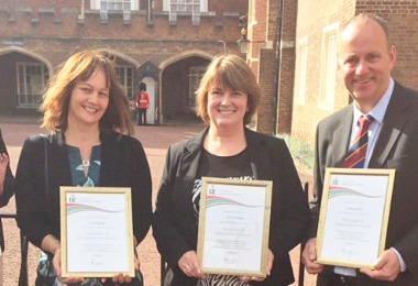 DofE Gold Award at St James's Palace