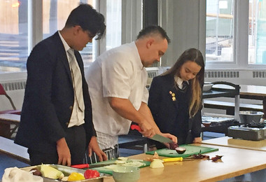 Life Skills Cooking Workshop for U5 pupils
