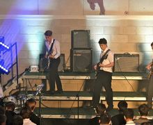 Boys performing instrumental in House Music 2017