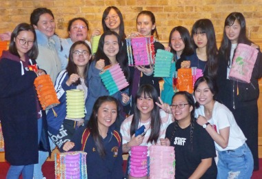 Boarders Celebrate Chinese Mid-Autumn Festival