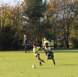 Westfield boys v Grimwade boys House Football 2017