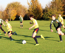 House Football matches 2017 Grimwade against Westfield