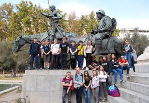 U3 half term trip to madrid