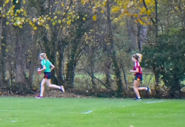 Senior School Pupils Race in Pearl & Yeo Cups