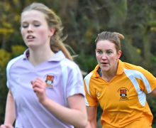 Alliott and Trotman House Girls Running Pearl Cup