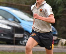 Sutton House boy running for his House Yeo Cup 2017