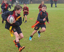Shell League Competitions 2017 Boys playing rugby