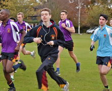 Senior School runners taking part in Yeo Cup 2017