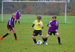 Newbury v westfield junior house football