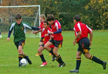 Exciting Junior House Football