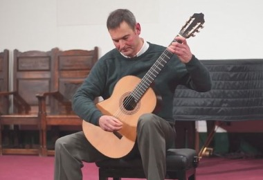 Classical Guitar Recital by Resident Guitarist
