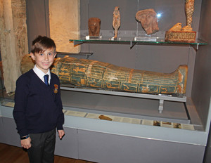 Lower shell boy enjoying fitzwilliam museum