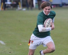 RPH boy running with ball Senior School House Rugby