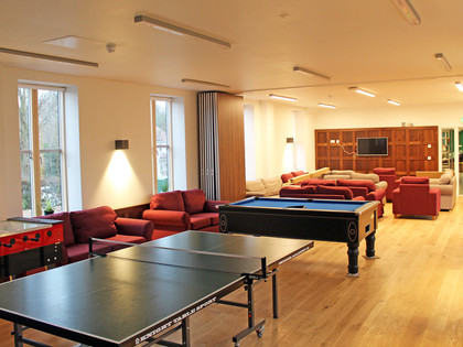 Rph common room with table tennis