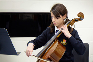 Prep School Cellist