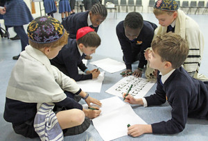 Upper Shell boys at jewish workshop