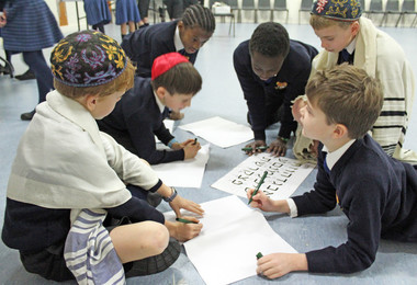 Prep School Pupils Learn about Judaism