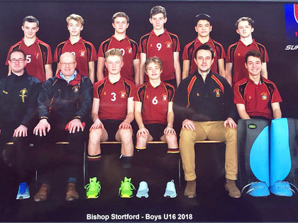 Official u16 indoor hockey nationals team photo