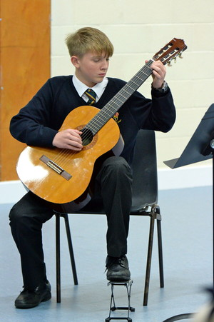 Guitarist in Independent Prep School