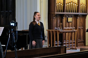 Billianna at St Michael's Church recital