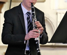 Scott on Clarinet in St Michael