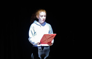 L5th girl performing in production of The 11th Hour