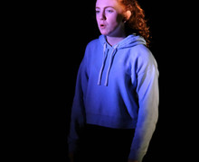 L5th Girl performing in Devised Play Jan 2018