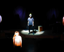 Pupils put on L5th Devised Play in Leo Price Theatre
